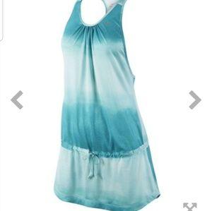Nike Dry Fit Knit Running Dress Skirt Tie Dye M